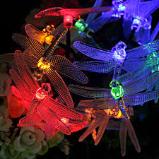 Red Solar Lights by Online Get Cheap Dragonfly Lights String Plug In Aliexpress Com