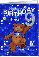 age specific birthday cards for niece from greeting card universe