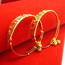 child bangle bracelet images The baby 39 s gold bracelet 999 thousand gold bracelets child jpg