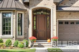 Custom Fiberglass Doors Exterior Custom 2 Panel Solid Mahogany Entry Door Custom Wood Front Entry