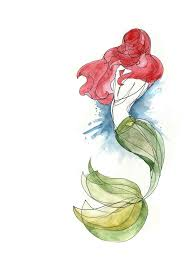 watercolor mermaid tattoo design in 2017 real photo pictures