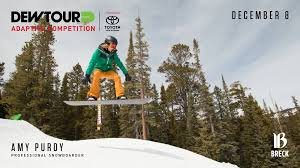 welcome to gale toyota toyota dew tour announces adaptive competition during breckenridge event