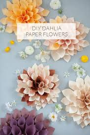 25 unique paper flower decor ideas on paper wall