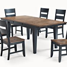 beaver creek leg dining table in brown by cochrane furniture