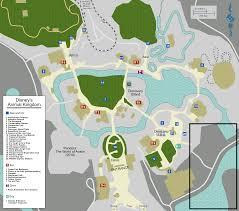 Maps Of Disney World by File Map Walt Disney World Animal Kingdom Svg Wikimedia Commons