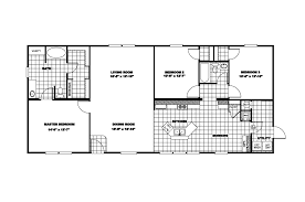 3 bedroom single wide mobile home floor plans dact us