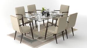 Customise And Buy Sheesham Teak  Seater Dining Tables Online In - Dinning table designs