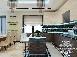 Rublevka интерьер кухни в стиле модерн в жк рублевка фото 2017