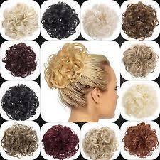 bun scrunchie hair bun ebay