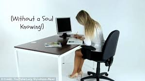 leg exercises at desk how to get fit at your desk in 10 simple exercises daily mail online