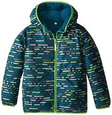 columbia boys dual front jacket down alternative