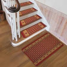 Laminate Flooring On Stairs Slippery Using Carpet Stair Treads For Safety Reasons Vwho