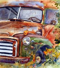 188 best old cars u0026 trucks paintings images on pinterest