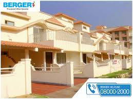 paint your house exterior with cream color berger paint