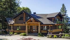 canada log homes site