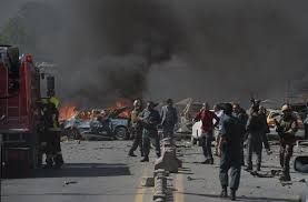 Car Interior Smoke Bomb At Least 35 Killed 40 Wounded In Afghanistan Car Bomb Attack
