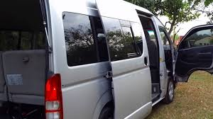 toyota hiace interior toyota hiace 2008 manual 3 0 youtube