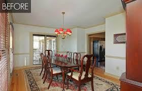 Dining Room Makeover Dining Room Before And After - Dining room makeover pictures
