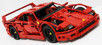 f40 suspension this lego f40 is the coolest