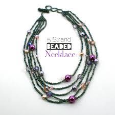 beading necklace clasp images Multistrandbeadednecklace jpg jpg