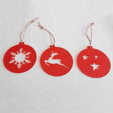 hanging outdoor christmas decoration laser cut acrylic christmas