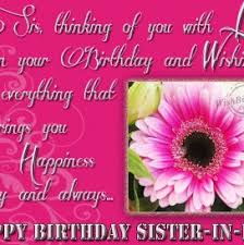 funny birthday message for sister in law birthday pinterest