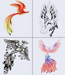 phoenix tattoo design ideas for men