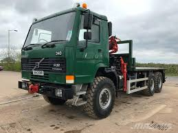 trucks for sale volvo used used volvo fl12 340 crane trucks year 1998 for sale mascus usa