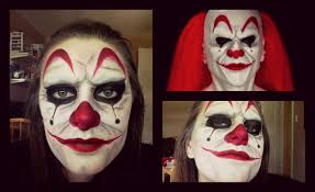 scary clown halloween mask scary clown halloween tutorial youtube