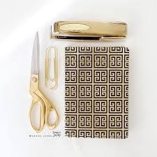 chic office supplies nate berkus target gold office supplies gold scissor shears gold