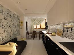 contemporary kitchen wallpaper ideas white kitchen cabinets and modern wallpaper ideas for decorating