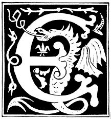 decorative initial letter u201ce u201d from 16th century
