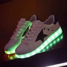 light up shoes for adults men 7 colors led shoes luminous lovers fashion men women usb light up