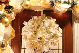 how to make a christmas deco mesh wreath u2013 the bajan texan