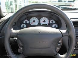 2003 Mustang Cobra Black 2003 Dark Shadow Grey Metallic Ford Mustang Cobra Convertible