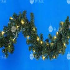 8 foot led christmas tree white lights 8 ft pre lit led pine artificial christmas garland with warm white