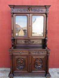 French Antique Bookcase Antique Furniture French Antique Hutch Display Cabinet Antique