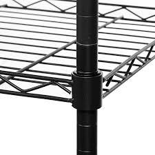 5 Shelf Wire Shelving Amazon Com Homdox 3 Tire Heavy Duty Shelves Storage Organizer