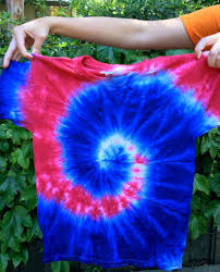 How To Tie Dye An American Flag The Perfect Swirl 4th Of July Tie Dye