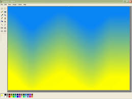 gradients in microsoft paint 5 steps