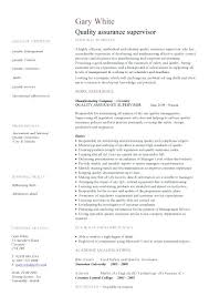 sample quality engineer resume quality assurance test engineer
