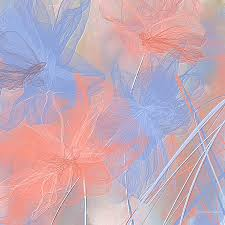 Pantone Color Of The Year 2016 Rose Quartz And Serenity Pantone Color Of The Year 2016 Painting