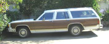 1986 ford crown victoria country squire woody 8 passenger station
