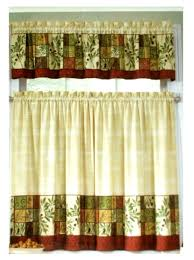Yellow Kitchen Curtains Valances Blue And Yellow Kitchen Curtains Sunflower Kitchen Curtains