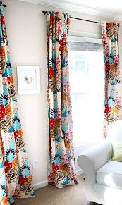 Floral Curtains Boho Curtains W Blackout Lining 2 Panels Of 40wx84l