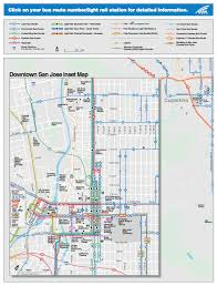 San Jose Bus Routes Map by Maps U0026 Parking Center For Literary Arts