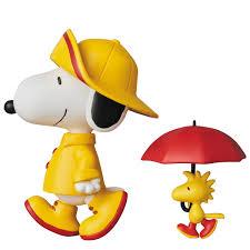 snoopy and woodstock halloween costumes ultra detail figure peanuts series 7 raincoat snoopy u0026 woodstock