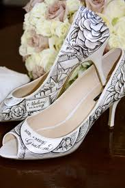 wedding shoes qld personalised wedding shoes the s tree