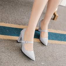 wedding shoes chunky heel pointed toe wedding shoes chunky heel patent