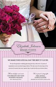 self wedding planner new customizable flyer for wedding planners quality self